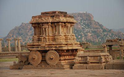 09-Hampi - Stone chariot